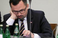 Poseł PiS Marcin Horała nie uniknął wpadek podczas przesłuchania Donalda Tuska. Teraz twierdzi, że to szef RE wypadł słabo.