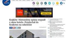 """26 kwietnia 2017 roku Telewizjarepublika.pl odgrzebała newsa """"Gazety Krakowskiej"""" sprzed roku"""