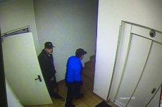 Tych dwóch mężczyzn zdaniem dziennikarki Joanny Racewicz okradło jej mieszkanie.
