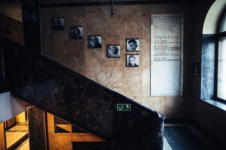 W Teatrze Ateneum grają takie gwiazdy jak m.in. Grzegorz Damięcki i Artur Barciś