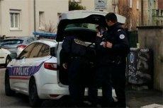 Trwa akcja policji francuskiej w Strasburgu.
