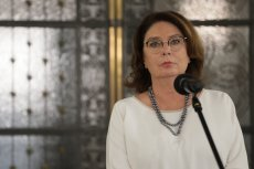 Kidawa-Błońska odpowiedziała, czy zamierza wycofać się z wyborów prezydenckich.