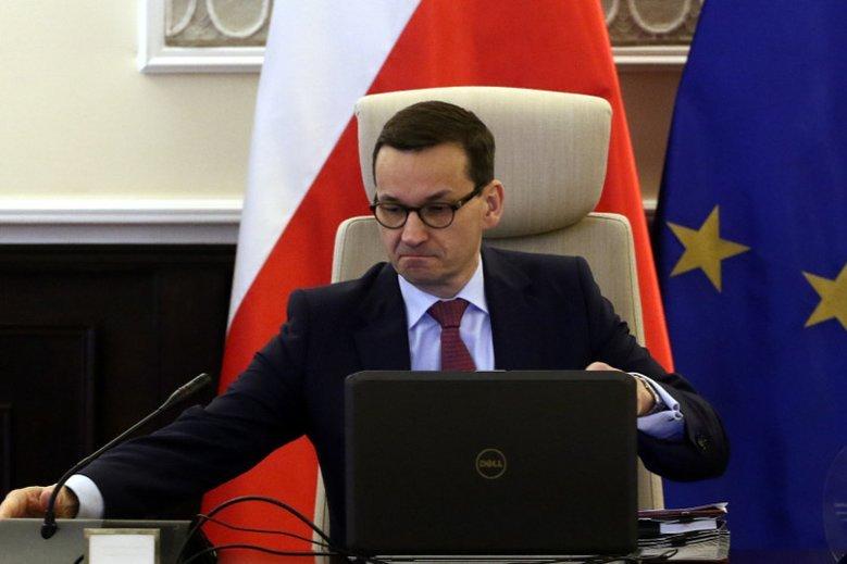 Fejkowy profil Morawieckiego na Facebooku został zamknięty.