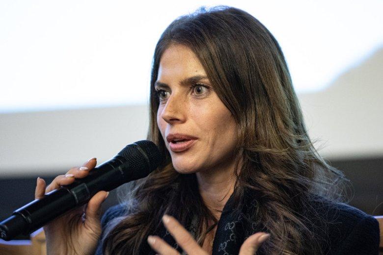 Awantura z udziałem Weroniki Rosati na Kongresie Kobiet.