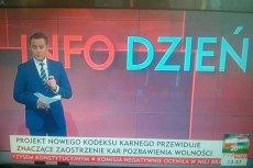 TVP INFO w bardzo ograniczonym zakresie informowało o krytycznej opinii Komisji Europejskiej na temat Polski.