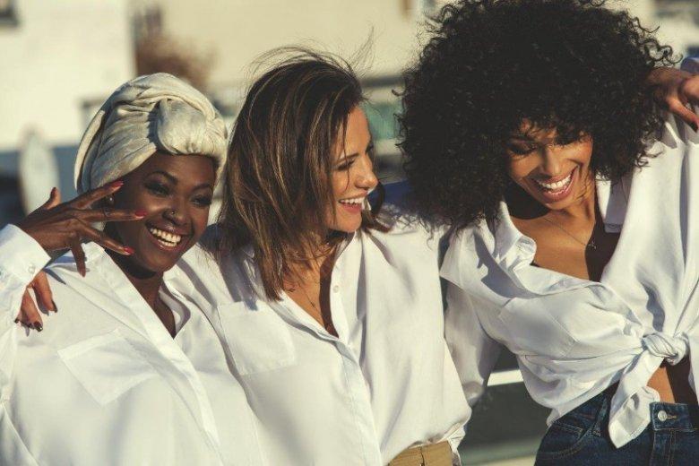 Od lewej: Victoria Abbey, Sara Boruc-Mannei i Omenaa Mensah