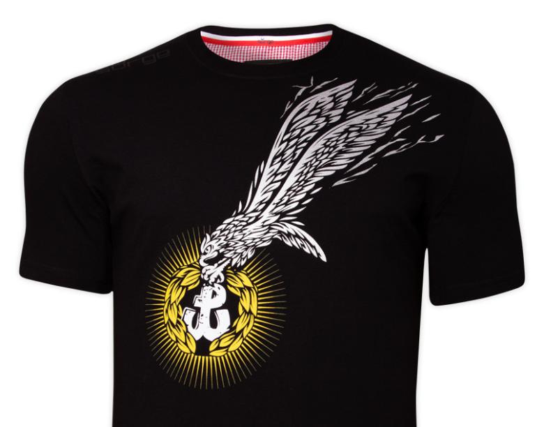 Koszulka patriotyczna Odznaka Cichociemnych - Surge Polonia