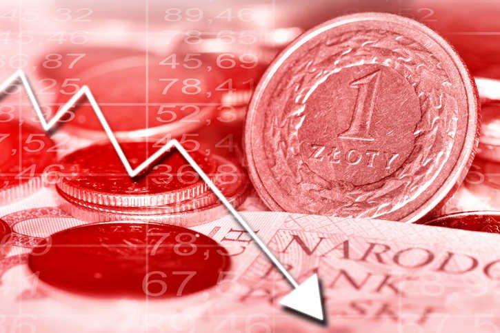 Słaba złotówka sprzyja eksportowi, ale zwiększa dług publiczny i szkodzi obywatelom