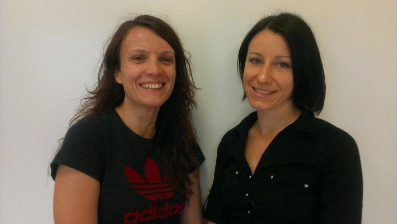 Terapeutki Emilia Kowalewicz - Rusiecka i Ewelina Tarkowska. Uczestnicy terapii nie zgodzili się na zdjęcie.