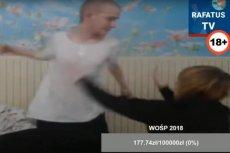 Rafatus to jeden z najpopularniejszych polskich youtuberów. Na swoje kanale transmituje na żywo np. to jak pijany bije swoją dziewczynę Marlenę. I zbiera pieniądze... na WOŚP.