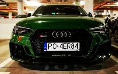 Nowe Audi RS4 Avant w tym kolorze zyskuje z każdym kolejnym dniem.