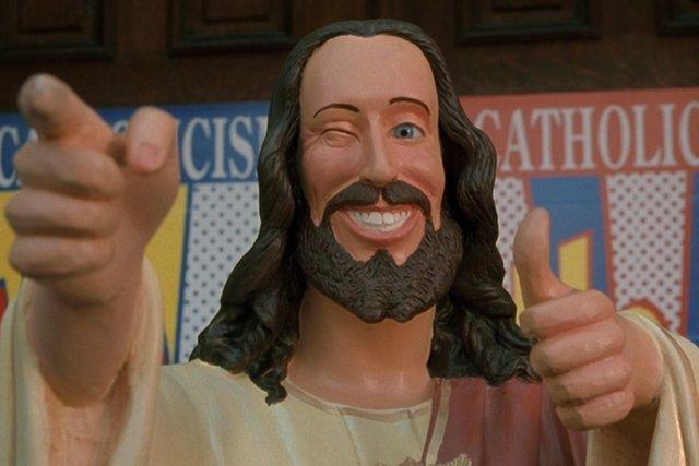 """Buddy Christ z filmu """"Dogma"""""""