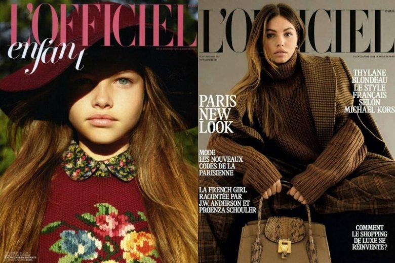 """Modelka pracuje od czwartego roku życia. Współpracowała z największymi tytułami na rynku francuskim. Tutaj: sesje dla """"L'Officiel"""""""