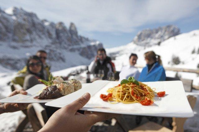 Spaghetti i knedle, czyli typowy kulinarny miks wpływów włoskich i austriackich