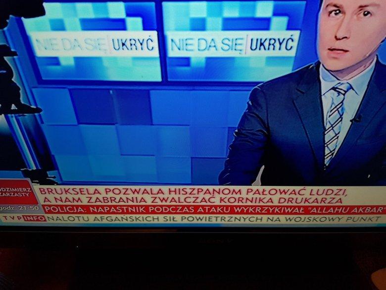 Zdumiewający pasek informacyjny w TVP Info. Chodzi o referendum w Katalonii