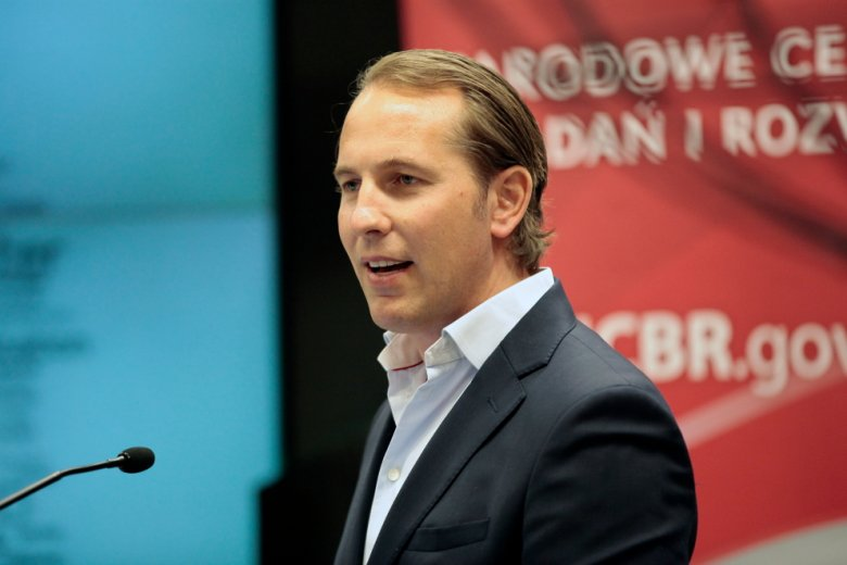 foto: Leszek Wiśniewski, Johan Gorecki - Prezes Glob Forum