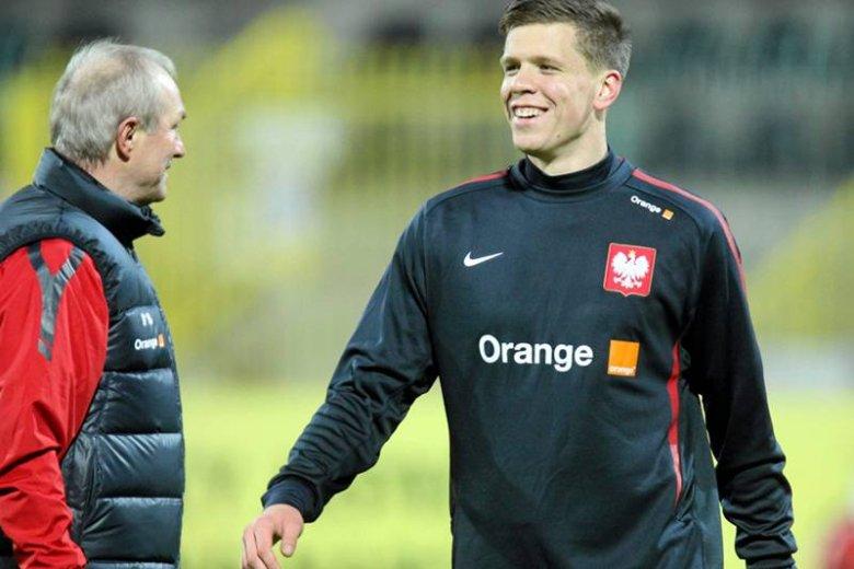 Wojciech Szczęsny - on, zdaniem Franciszka Smudy i Mateusza Borka, powinien być pierwszym bramkarzem kadry