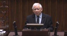 Jarosław Kaczyński w Sejmie o Antonim Zambrowskim
