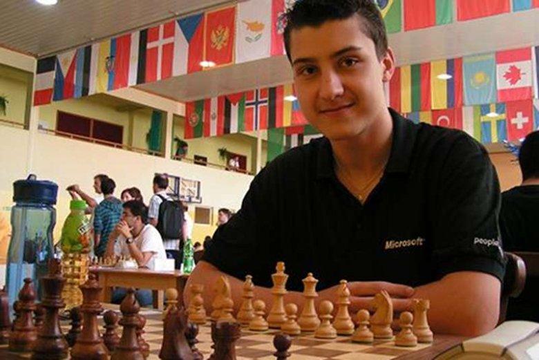 Dariusz Świercz - mistrz świata, cudowne dziecko polskich szachów.