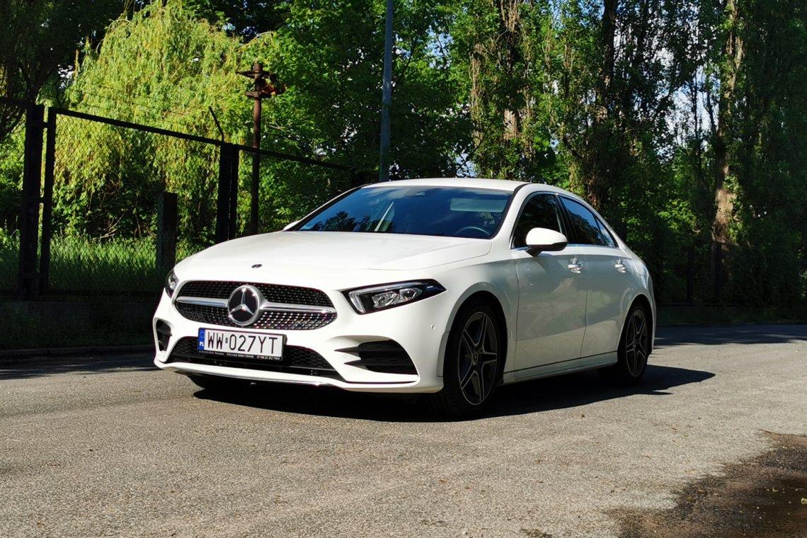 Tak się prezentuje nowy Mercedes klasy A w sedanie.