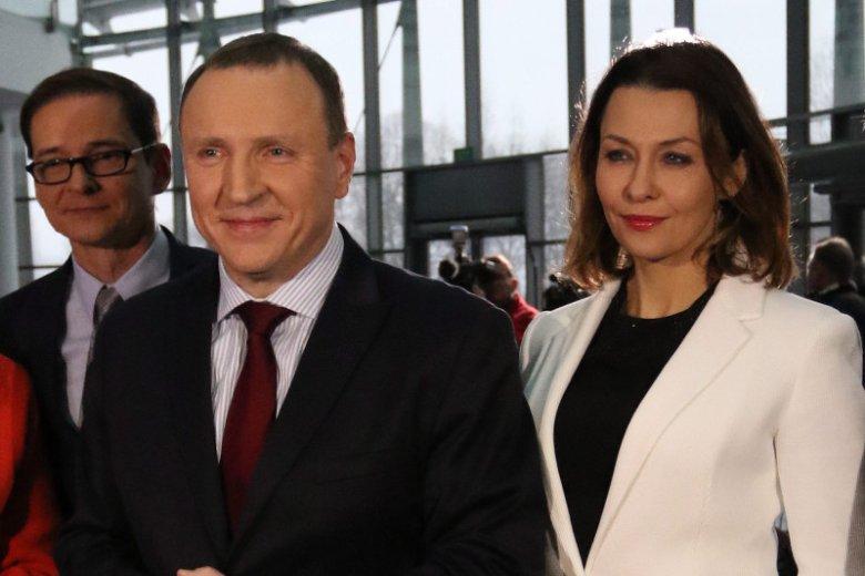 Anna Popek wystąpiła u boku Jacka Kurskiego