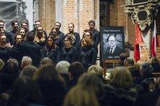 Pogrzeb Pawła Adamowicza w Bazylice Mariackiej w Gdańsku. Bydgoski wykładowca akademicki namawiał do zniszczenia kościoła, co zostało odebrane jako nawoływanie do popełnienia zbrodni.
