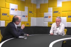 Włodzimierz Czarzasty wyjaśniał w RMF FM, że w polityce trzeba mieć poglądy. I użył niecenzuralnego słowa.