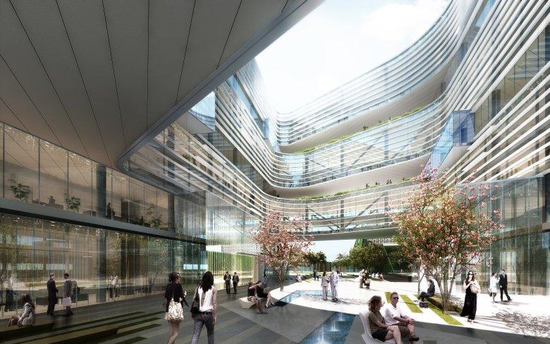 Za 400 mln dolarów ok. 20 minut od siedziby Apple powstaje gigantyczna siedziba Samsung.