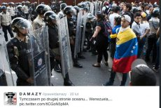 W Wenezueli trwają antyrządowe demonstracje