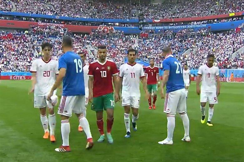 Piłkarzom Maroka nie udało się pokonać Irańczyków. Mecz kończy się wynikiem 0:0