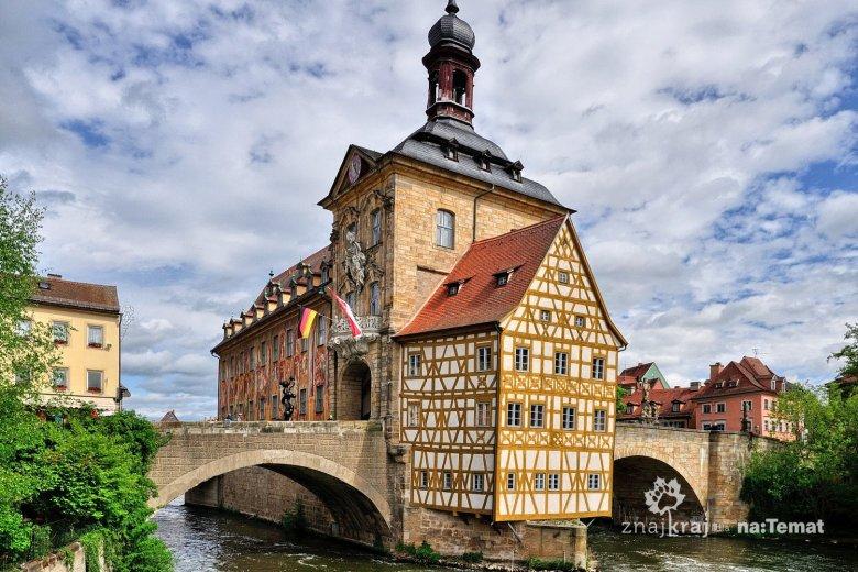 Stary Ratusz w Bambergu we Frankonii