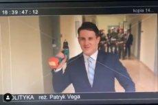 """Vega w filmie """"Polityka"""" pokazał, jak Misiewicz włamał się do Centrum Eksperckiego Kontrwywiadu NATO."""