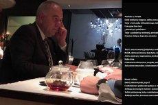 Ośmiorniczki PiS to kwestia czasu? W sieci pojawiło sięzdjęcie posła Jacka Sasina w warszawskiej restauracji.