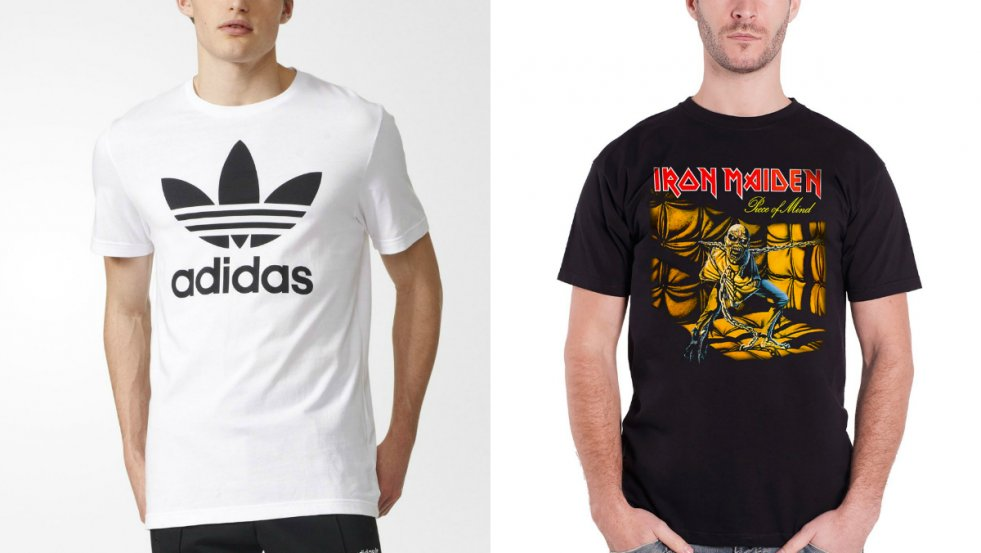 e5e82d961c469e Czy to Adidas czy Iron Maiden – koszulki z nadrukami na męskich piersiach  nie cieszą się