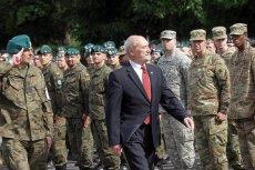 Przez decyzje szefa MON wizerunek Polski i nasza wartość bojowa w NATO znacząco się obniżyły