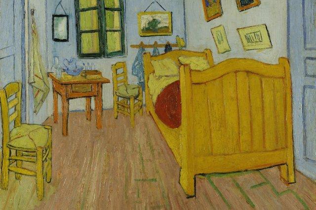 """""""The Bedroom"""", Vincent Van Gogh, Muzeum Van Gogha w Amsterdamie"""