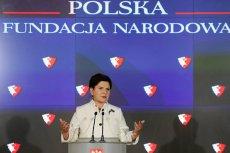 Beata Szydło powołała Polską Fundację Narodową, aby dbała o wizerunek kraju.