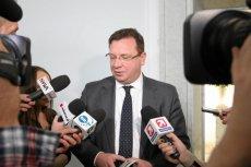 Michał Wójcik, podsekretarz stanu w Ministerstwie Sprawiedliwości, wytknął swoim poprzednikom z PO nagrody sprzed 10 lat.