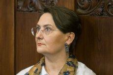 """Joanna Jaśkowiak została uniewinniona przez poznański sąd za użycie słów """"Jestem wk***"""" w kontekście przejęcia władzy przez PiS."""