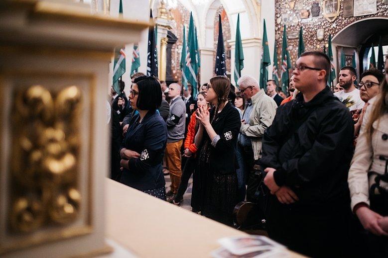 Na zdjęciu V Pielgrzymka Środowisk Narodowych – tuż przed nią Młodzież Wszechpolska wybrała nowego szefa, Ziemowita Przebitkowskiego.