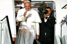 Papież Franciszek podczas pielgrzymki do Brazylii