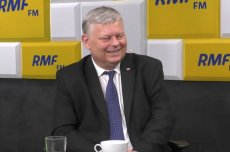 Marek Suski w RMF FM pochwaliłsię swoim obrazem i mówił o pasji do malarstwa.