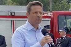 Rafał Trzaskowski odpowiedział po francusku na pytanie dziennikarza AFP.
