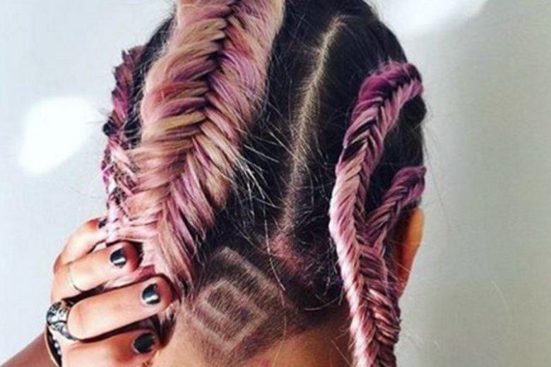 Tatuaż Na Włosach Tak To Będzie Najmodniejsza Fryzura Lata