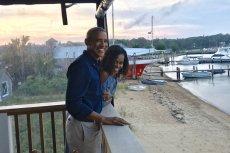 Michelle Obama opublikowała zdjęcie z mężem na rocznicę ślubu.
