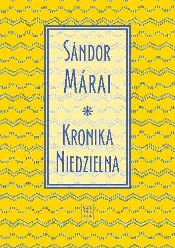 Sandor Marai Kronika niedzielna