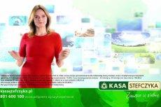 """Beata Fido, która zagrała głównąrolę w filmie """"Smoleńsk"""", wystąpiła w reklamie SKOK Stefczyka."""