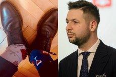 Robert Biedroń wrzucił na Twittera zdjęcie w skarpetkach nie do pary. Powodem był Światowy Dzień Osób z Zespołem Downa.