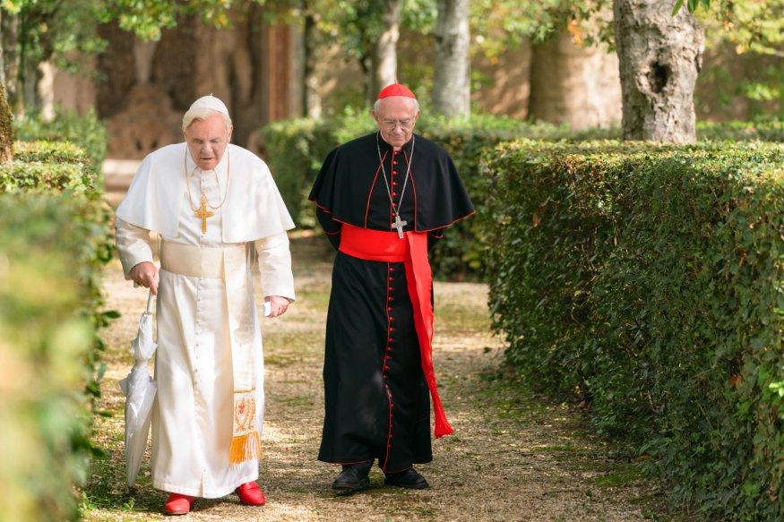 Znalezione obrazy dla zapytania: dwóch papiezy