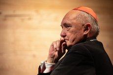 """Kard. Kazimierz Nycz """"z empatią"""" mówi o biskupie Janie Szkodoniu oskarżanym o pedofilię."""